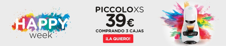 HAPPY WEEK PICCOLO XS A 39€ COMPRANDO 3 CAJAS