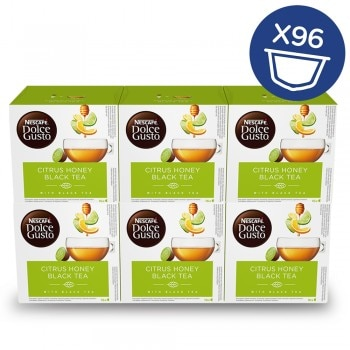 Lote de 6 cajas de café citrus honey black tea NESCAFÉ® Dolce Gusto®
