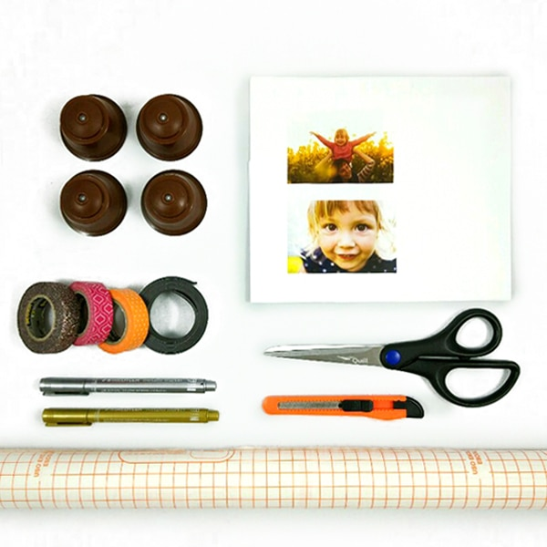 Materiales diy dia de la madre