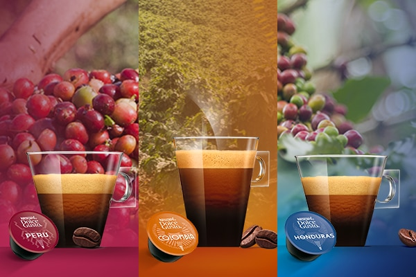 cafes organicos Dolce Gusto