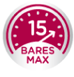 15 Bares Max